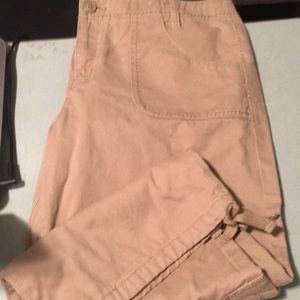Lucky Brand Dungarees America capris